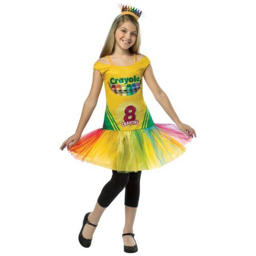 【全品P5倍】Crayola Crayon Box ドレス キッズ 子供用 Crayola クリスマス ハロウィン コスチューム コスプレ 衣装 変装 仮装