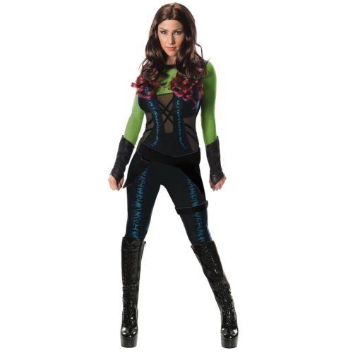 Deluxe Gamora 大人用 Guardians of The Galaxy ハロウィン コスチューム コスプレ 衣装 変装 仮装