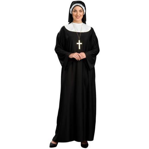 Nun 大人用 Religious クリスマス ハロウィン コスチューム コスプレ 衣装 変装 仮装