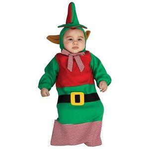 【ポイント最大29倍●お買い物マラソン限定!エントリー】Elf Bunting ベイビーSanta's Little Helper クリスマス Holiday ハロウィン コスチューム コスプレ 衣装 変装 仮装