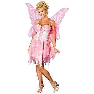 Pink Fairy 大人用 ハロウィン コスチューム コスプレ 衣装 変装 仮装