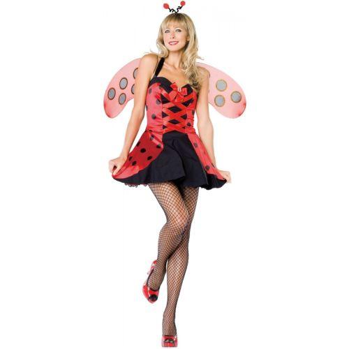 【ポイント最大29倍●お買い物マラソン限定!エントリー】Lovely Ladybug 大人用 Lady Bug ハロウィン コスチューム コスプレ 衣装 変装 仮装