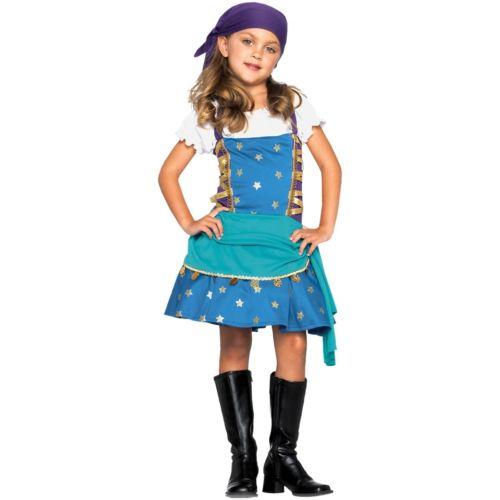 ジプシー プリンセス 王女様 キッズ 子供用 占い師 ハロウィン コスチューム コスプレ 衣装 変装 仮装