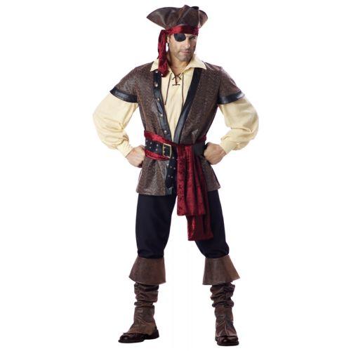 【ポイント最大29倍●お買い物マラソン限定!エントリー】Pirate 大人用 男性用 メンズ ハロウィン コスチューム コスプレ 衣装 変装 仮装
