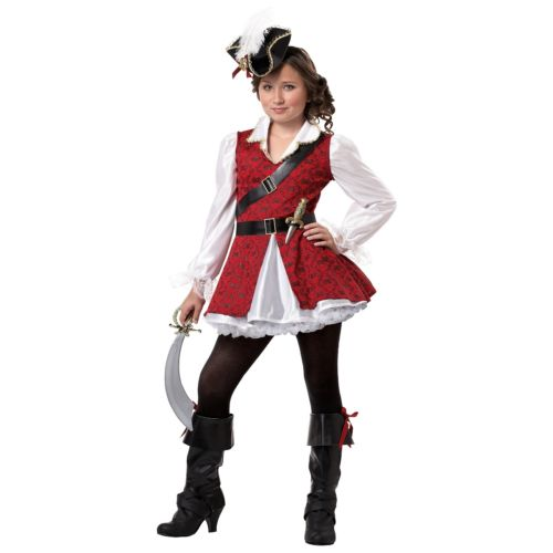 ガール Piratewith Hat キッズ 子供用 クリスマス ハロウィン コスチューム コスプレ 衣装 変装 仮装