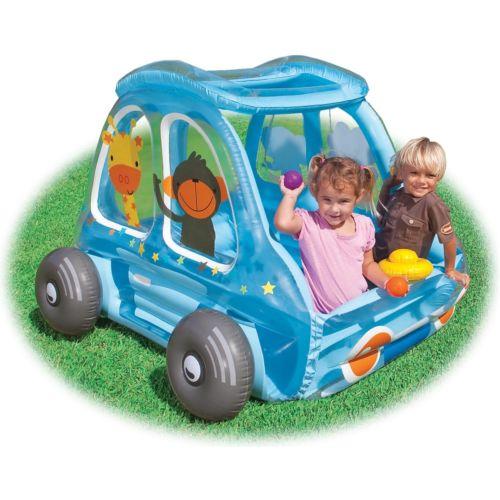 【マラソン全品P5倍】Intex キッズ 子供用 Ball Toyz Animal Car Play Center Ball Pit 48661EP クリスマス ハロウィン コスチューム コスプレ 衣装 変装 仮装