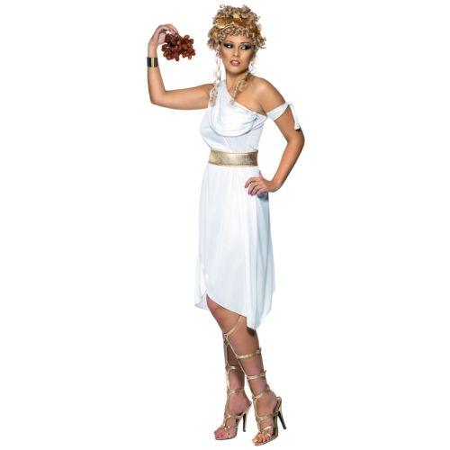 【全品P5倍】ホワイト Greek 女神 大人用 クリスマス ハロウィン コスチューム コスプレ 衣装 変装 仮装