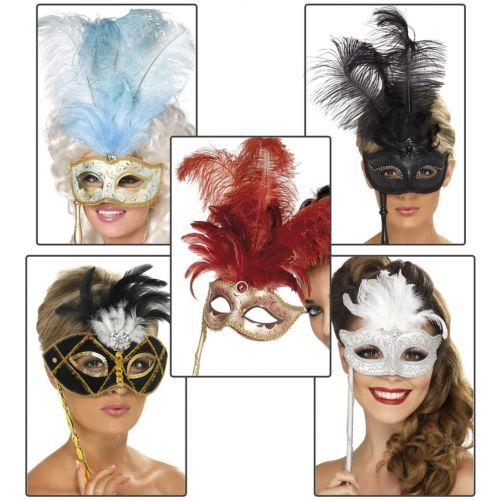 【ポイント最大29倍●お買い物マラソン限定!エントリー】Masquerade Masks レディス 女性用 Venetian アクセサリー ハロウィン コスチューム コスプレ 衣装 変装 仮装
