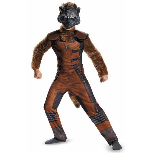 【ポイント最大29倍●お買い物マラソン限定!エントリー】Rocket Raccoon キッズ 子供用 Deluxe Guardians of The Galaxy ハロウィン コスチューム コスプレ 衣装 変装 仮装