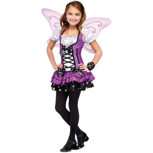 Fairy キッズ 子供用 Butterfly ハロウィン コスチューム コスプレ 衣装 変装 仮装