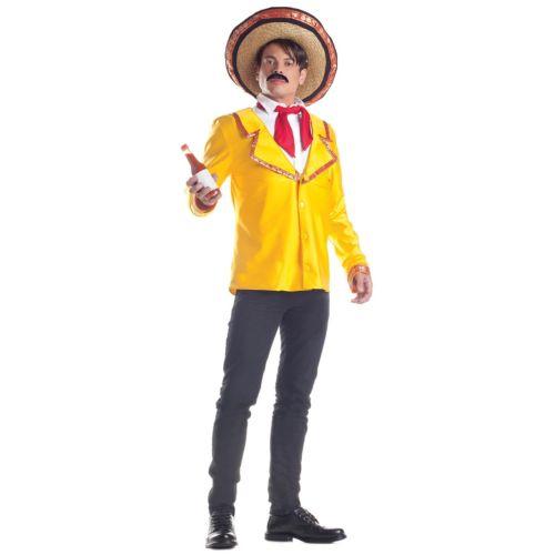 【ポイント最大29倍●お買い物マラソン限定!エントリー】Hot SauceFunny 大人用 Gag Mexican Cinco de Mayo ハロウィン コスチューム コスプレ 衣装 変装 仮装