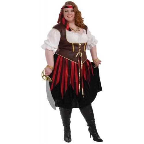 【ポイント最大29倍●お買い物マラソン限定!エントリー】Pirate Lady 大人用 ハロウィン コスチューム コスプレ 衣装 変装 仮装