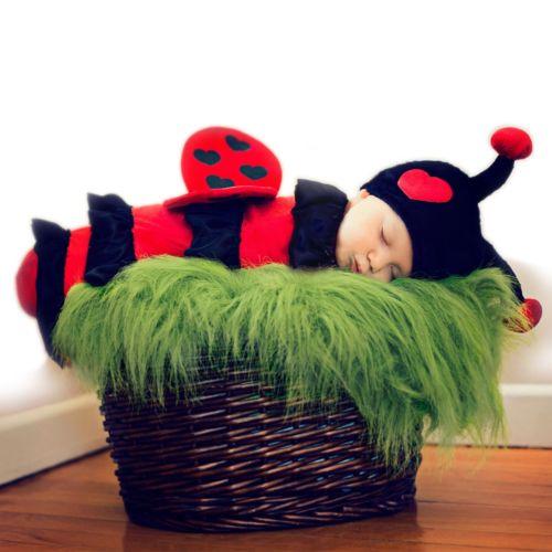 【ポイント最大29倍●お買い物マラソン限定!エントリー】ベイビー LadybugBunting Swaddle ハロウィン コスチューム コスプレ 衣装 変装 仮装