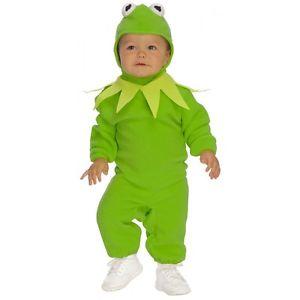【ポイント最大29倍●お買い物マラソン限定!エントリー】Kermit Romperベイビー Frog ハロウィン コスチューム コスプレ 衣装 変装 仮装