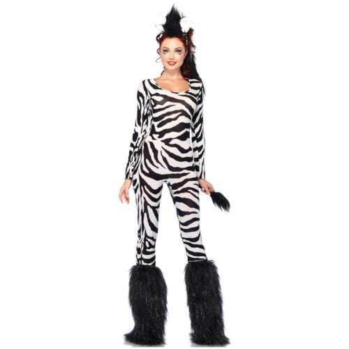 Zebra 大人用 Safari Animal ハロウィン コスチューム コスプレ 衣装 変装 仮装