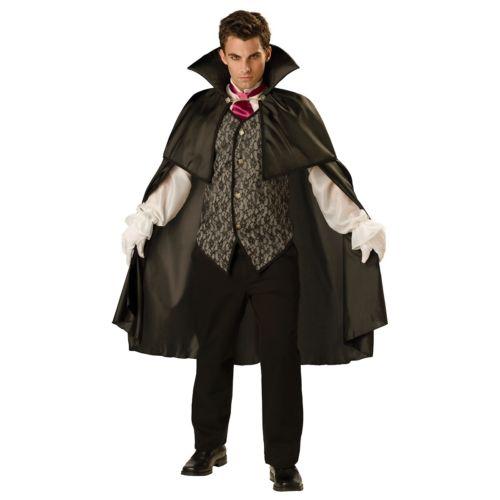 【ポイント最大29倍●お買い物マラソン限定!エントリー】Midnight バンパイア 吸血鬼 大人用 Count Dracula ハロウィン コスチューム コスプレ 衣装 変装 仮装