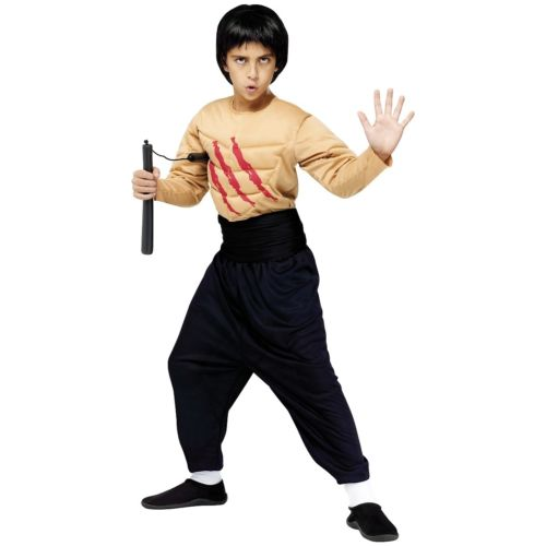 【ポイント最大29倍●お買い物マラソン限定!エントリー】Kids Kung Fu Master ハロウィン コスチューム コスプレ 衣装 変装 仮装