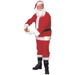 【店内全品P5倍】Santa スーツ 大人用 クリスマス for Men SantaCon クリスマス ハロウィン コスチューム コスプレ 衣装 変装 仮装