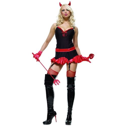 Pinstriped Devil 大人用 Hot ハロウィン コスチューム コスプレ 衣装 変装 仮装