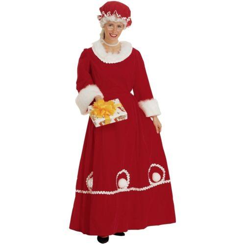 Claus 変装 コスチューム Velvet 大人用 クリスマス Mrs Outfit 仮装 衣装 クリスマス コスプレ ハロウィン