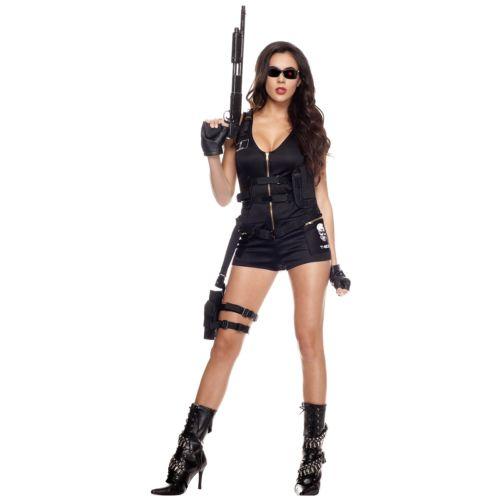 【ポイント最大29倍●お買い物マラソン限定!エントリー】T-800 Hottie 大人用 The Terminator ターミネーターRomper ハロウィン コスチューム コスプレ 衣装 変装 仮装