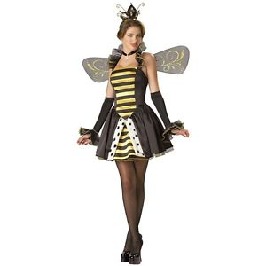 【ポイント最大29倍●お買い物マラソン限定!エントリー】Queen Miss-Bee-Have 大人用 High Quality Bumble B ハロウィン コスチューム コスプレ 衣装 変装 仮装