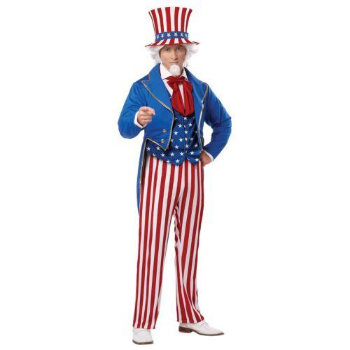 【ポイント最大29倍●お買い物マラソン限定!エントリー】Uncle Sam 大人用 4th of July ハロウィン コスチューム コスプレ 衣装 変装 仮装