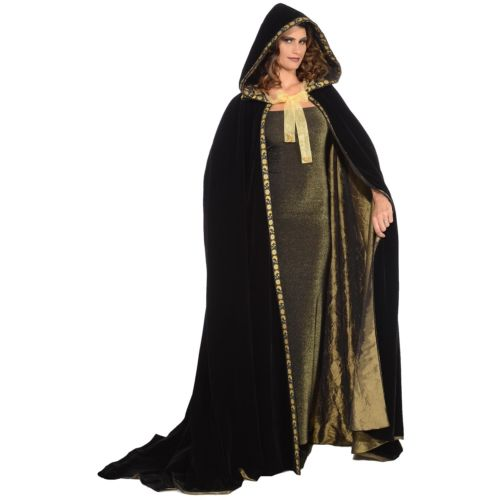 Hooded Hooded Cloak 大人用 大人用 Medieval Cape Renaissance ハロウィン コスチューム コスプレ Cape 衣装 変装 仮装, アースワードpc-shop:36b6c0c5 --- sunward.msk.ru