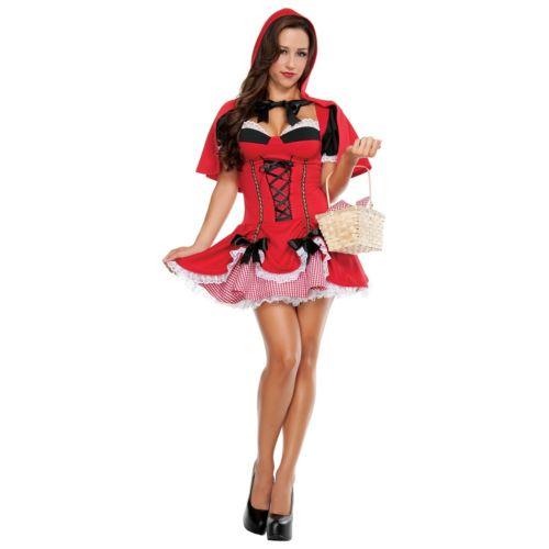 【ポイント最大29倍●お買い物マラソン限定!エントリー】セクシー Little Red Riding Hood 大人用 ハロウィン コスチューム コスプレ 衣装 変装 仮装