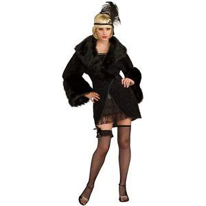 大人用 20's フラッパー Coat 大人用 Great Gatsby ハロウィン コスチューム コスプレ 衣装 変装 仮装