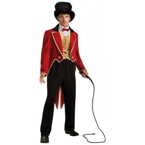 Circus Ring Master 大人用 ライオン Tamer ハロウィン コスチューム コスプレ 衣装 変装 仮装