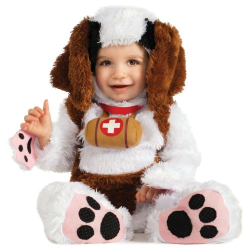 St. Bernard ベイビーCute Puppy Dog ハロウィン コスチューム コスプレ 衣装 変装 仮装