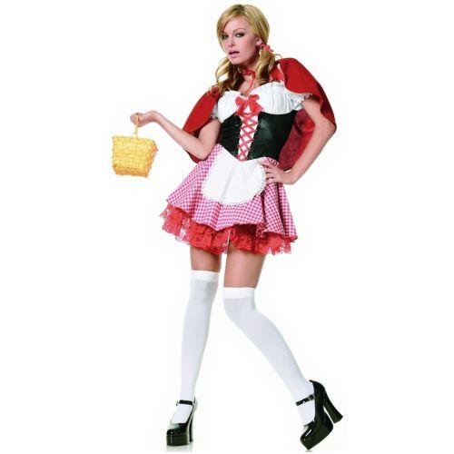 【ポイント最大29倍●お買い物マラソン限定!エントリー】Lil' Red Riding Hood 大人用 Little Hot ハロウィン コスチューム コスプレ 衣装 変装 仮装