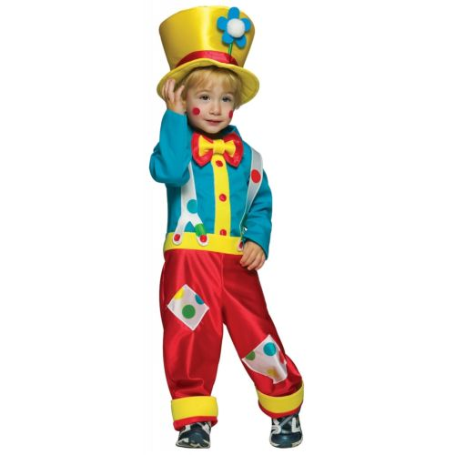 Toddler クラウン ピエロ 道化師 キッズ 子供用 クリスマス ハロウィン コスチューム コスプレ 衣装 変装 仮装