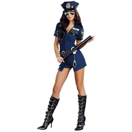 Officer Sheila B. セクシー 大人用 ハロウィン コスチューム コスプレ 衣装 変装 仮装