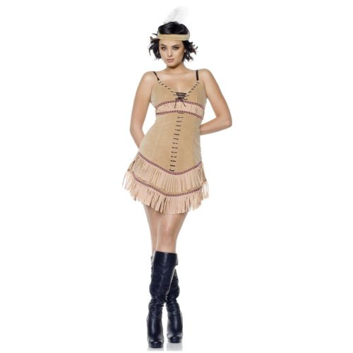Sassy Squaw 大人用 インディアン Sassy インディアン ハロウィン Squaw コスチューム コスプレ 衣装 変装 仮装, JONNY BEE:cd989b5a --- officewill.xsrv.jp