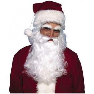 Santa クマ 熊d and Wig 大人用 男性用 メンズ クリスマス クリスマス ハロウィン コスチューム コスプレ 衣装 変装 仮装