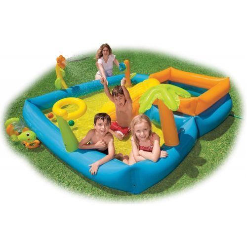 Intex Playground Playground Play Center コスプレ インフレータブル Blow-Up (空気を入れるタイプ) Pool キッズ 子供用 Spray Wading Blow-Up Swimming ハロウィン コスチューム コスプレ 衣装 変装 仮装, でらアウトレット-メンズブランド:b2595ccb --- officewill.xsrv.jp