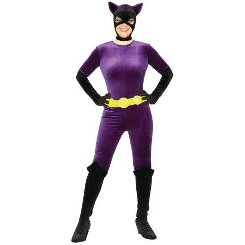 【ポイント最大29倍●お買い物マラソン限定!エントリー】Catwoman 大人用 レディス 女性用 Gotham ガール Cat Woman Jumpsuit Catsuit ハロウィン コスチューム コスプレ 衣装 変装 仮装