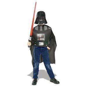 Darth Vader ダースベイダー アクセサリー Kit Star Wars スターウォーズ キッズ 子供用 + Lightsaber ハロウィン コスチューム コスプレ 衣装 変装 仮装
