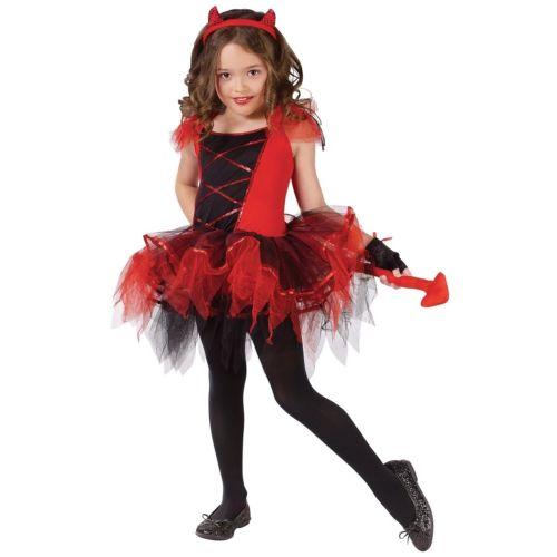 デビル 悪魔ina キッズ 子供用 バレリーナ デビル 悪魔 クリスマス ハロウィン コスチューム コスプレ 衣装 変装 仮装