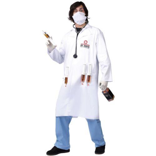 【ポイント最大29倍●お買い物マラソン限定!エントリー】Dr. Shots 大人用 Doctor ハロウィン コスチューム コスプレ 衣装 変装 仮装