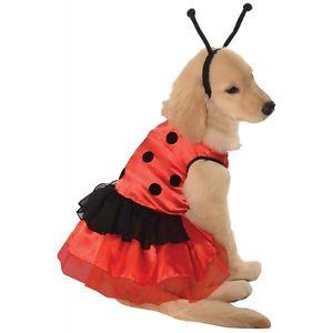 Ladybug ドレス Pet PetPet ハロウィン コスチューム コスプレ 衣装 変装 仮装