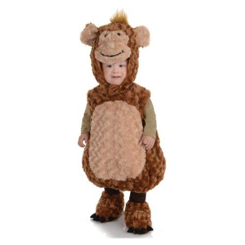 【全品P5倍】モンキーお猿 サルベイビー クリスマス ハロウィン コスチューム コスプレ 衣装 変装 仮装