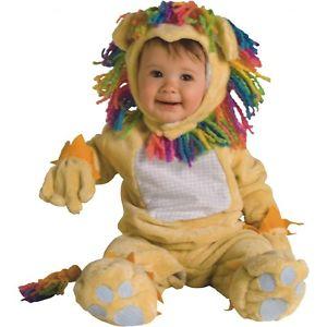 Fearless Lil' ライオンベイビー Rainbow Mane Newborn ハロウィン コスチューム コスプレ 衣装 変装 仮装