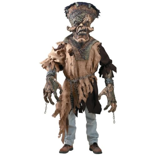 Frankenstein Creature Reacher 大人用 怖い モンスター クリスマス ハロウィン コスチューム コスプレ 衣装 変装 仮装