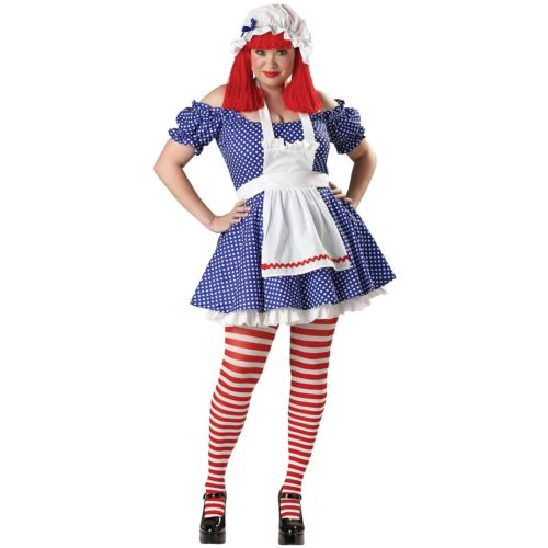 Racy Rag Doll 大人用 Raggedy Ann ハロウィン コスチューム Ann Raggedy コスプレ Racy 衣装 変装 仮装, コレクションシバ:0c750e8e --- officewill.xsrv.jp
