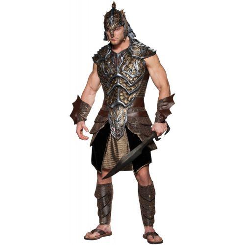 恐竜 ドラゴン ティラノサウルス Lordグラディエーター Fantasy Medieval Warrior 大人用 男性用 メンズ ハロウィン コスチューム コスプレ 衣装 変装 仮装