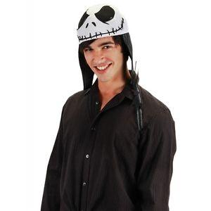 Jack Skellington Hat 大人用 Aviator Cap 男性用 メンズ クリスマス ハロウィン コスチューム コスプレ 衣装 変装 仮装