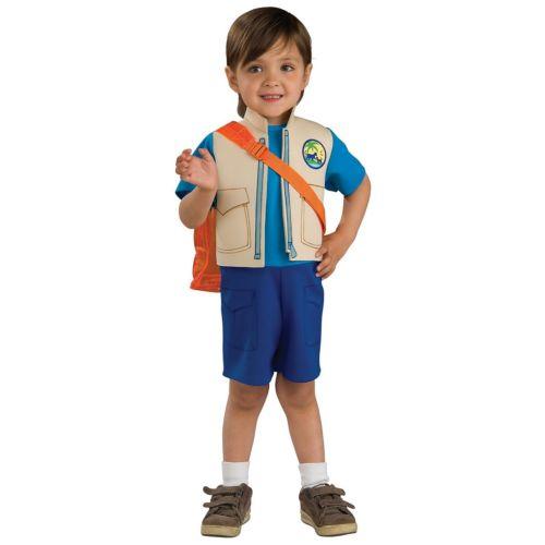Go Diego Go Child Toddler Boys Dora the Explorer 漫画 クリスマス ハロウィン コスチューム コスプレ 衣装 変装 仮装
